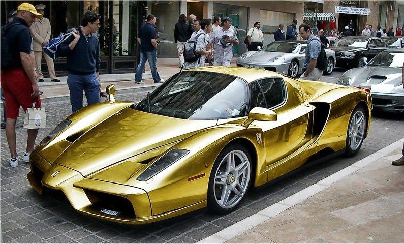 Gold car 2017