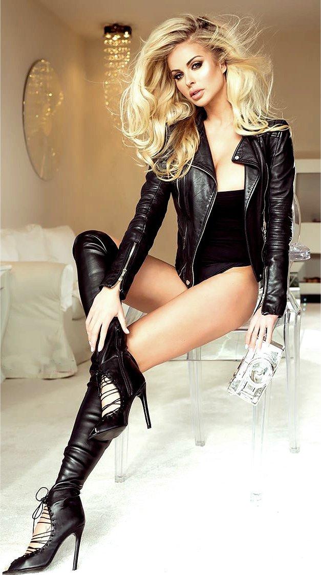 Did Sexy latex blonde valuable idea